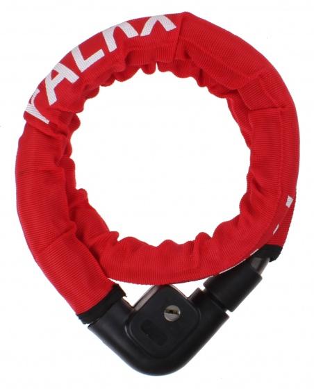 Falkx kettingslot Cobra 22 x 1000 mm staal/nylon rood