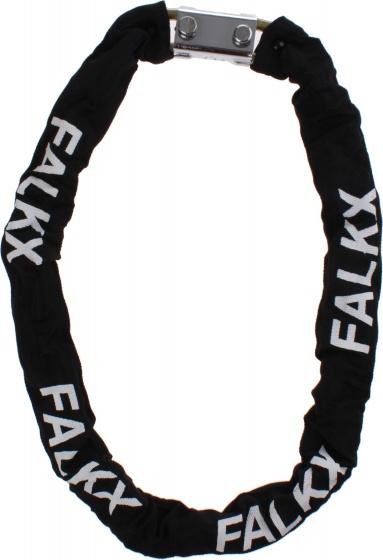 Falkx Kettingslot met nylon hoes 1200 x 10 mm zwart