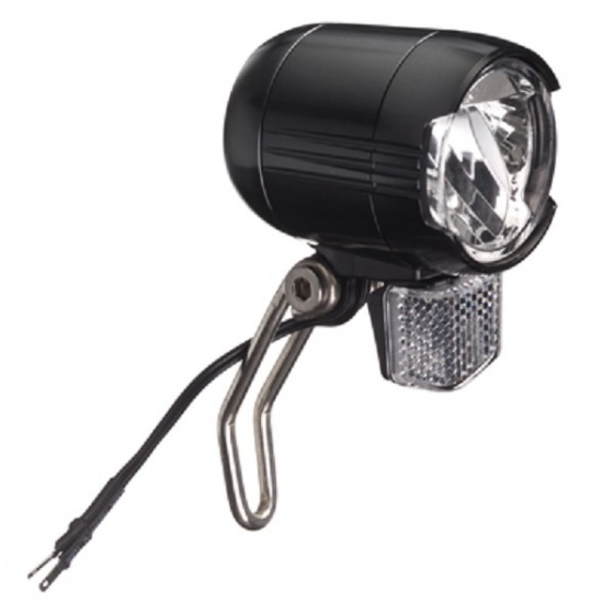 Falkx koplamp e bike led 6 48V zwart