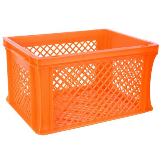 FastRider fietskrat junior 22 liter oranje