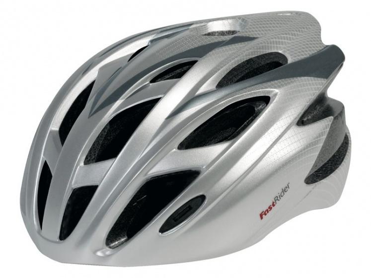 FastRider Helm FRX 10 Zilver Maat S/M