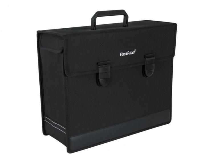 FastRider pakaftas 18,5 L zwart