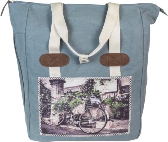 FastRider shopper Cyclo 20 liter blauw