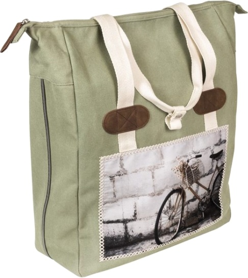 FastRider shopper Cyclo 20 liter groen
