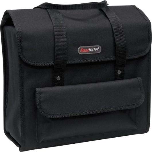 FastRider shopper Deluxe 23 liter zwart