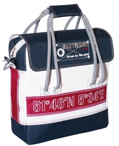FastRider shopper Nautic 15,5 liter blauw/wit/rood