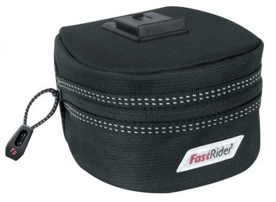 FastRider Zadeltas Excludus Groot Fast Lock Zwart 1,7 L