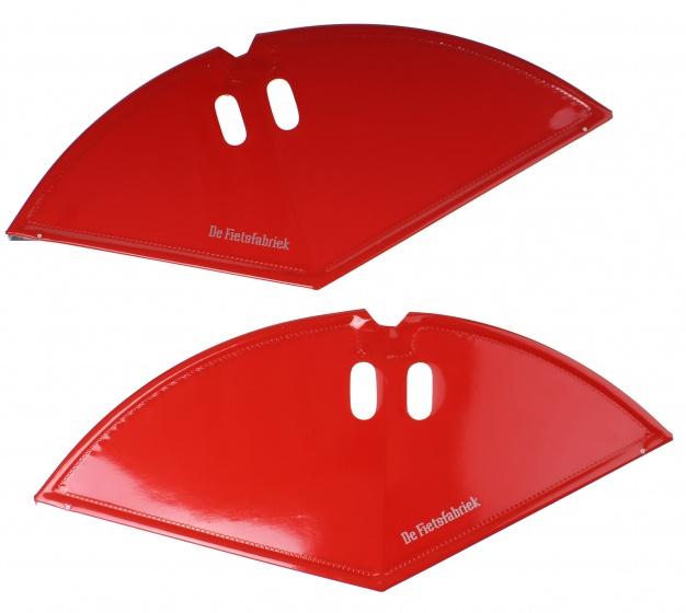 Ff jasbeschermers set 28 inch 57,5 cm rood