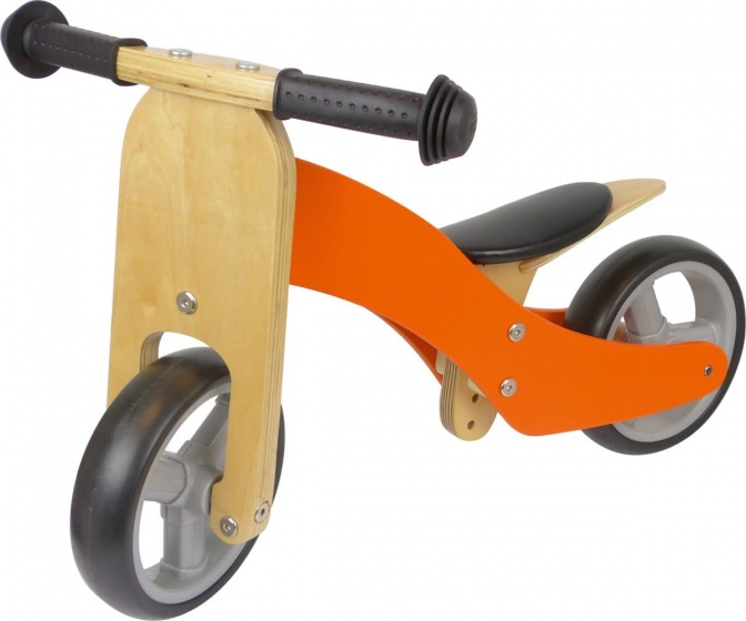 Fieldyards JW138 2 in 1 loopfiets Junior Oranje