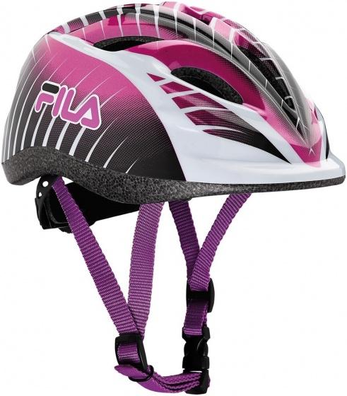 Fila fiets skatehelm meisjes roze maat XS 47 51 cm