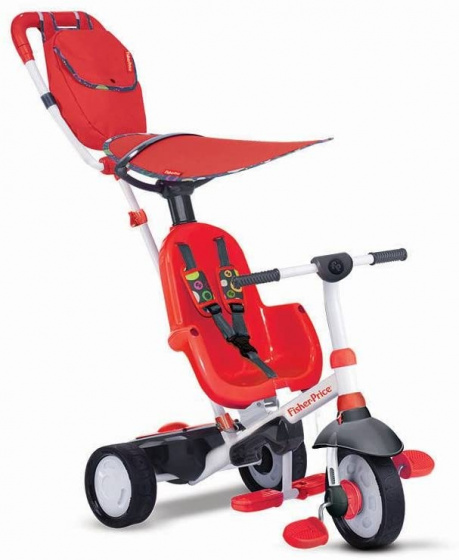 Fisher Price Charisma 4 in 1 Junior Wit/Rood