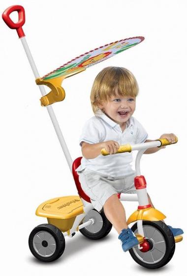 Fisher Price driewieler Glee Plus Junior Grijs/Geel
