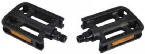 FPO platformpedalen 9/16 inch antislip zwart