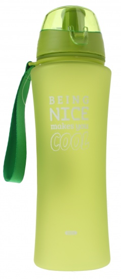 Fresh & Cold bidon being nice makes you cool 650 ml groen