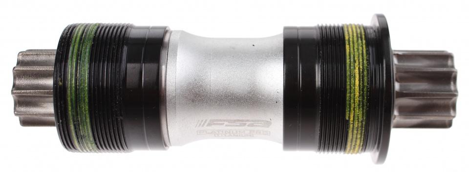 FSA trapas Platinum Pro BSA 113 x 27 mm zilver/zwart