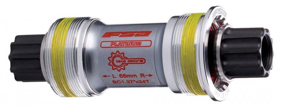 FSA trapas Platinum Pro BSA 113 x 28 mm zilver