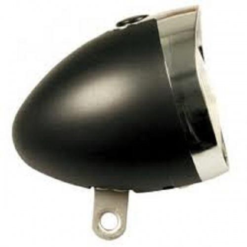 Amigo Koplamp Zwart 3 Leds Batterij
