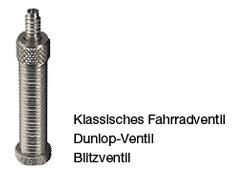 Gaadi Binnenband 26 x 1.90/2.10 (50/54 559) DV 40 mm