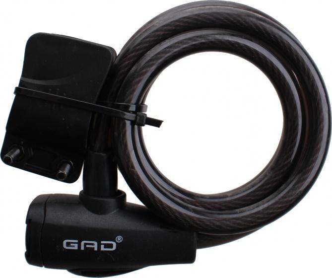 GAD spiraalslot Cypro 1200 x 12 mm zwart