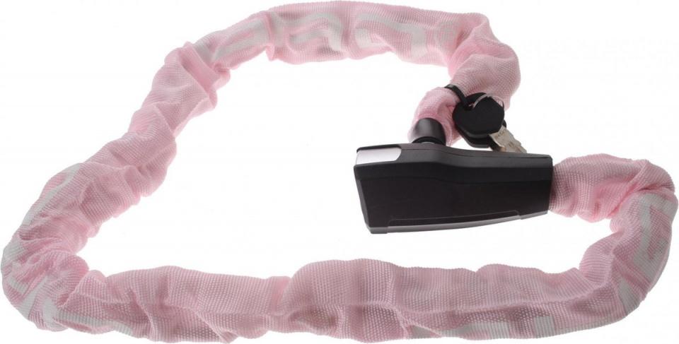 GAD kettingslot Antiro 110 cm staal/messing roze