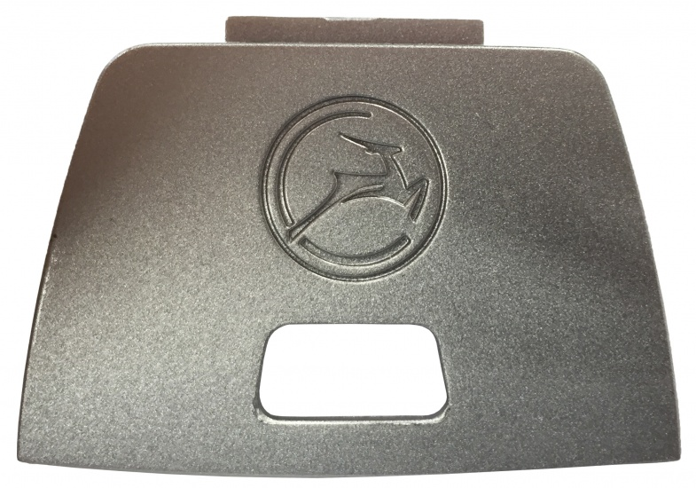 Korting Gazelle Achterlichtkapje Powervision Zilver