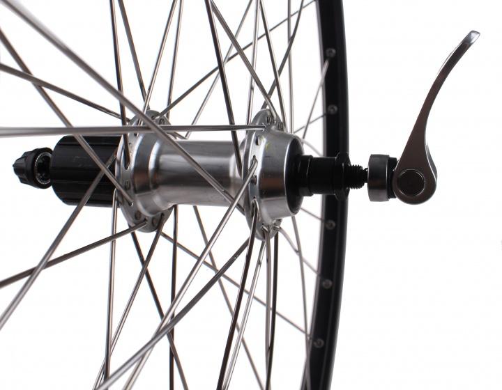 Gazelle achterwiel Connect 28 inch velgrem 36G 8/9S zwart
