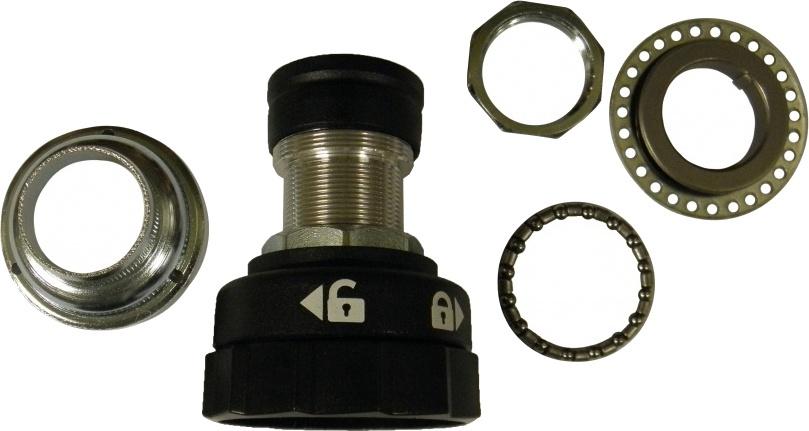 Gazelle Balhoofd stuurblokkering 22.2 / 54.5 mm zwart