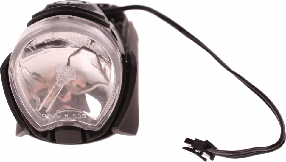 Gazelle koplamp Fenderlight V2 e bike zilver/zwart