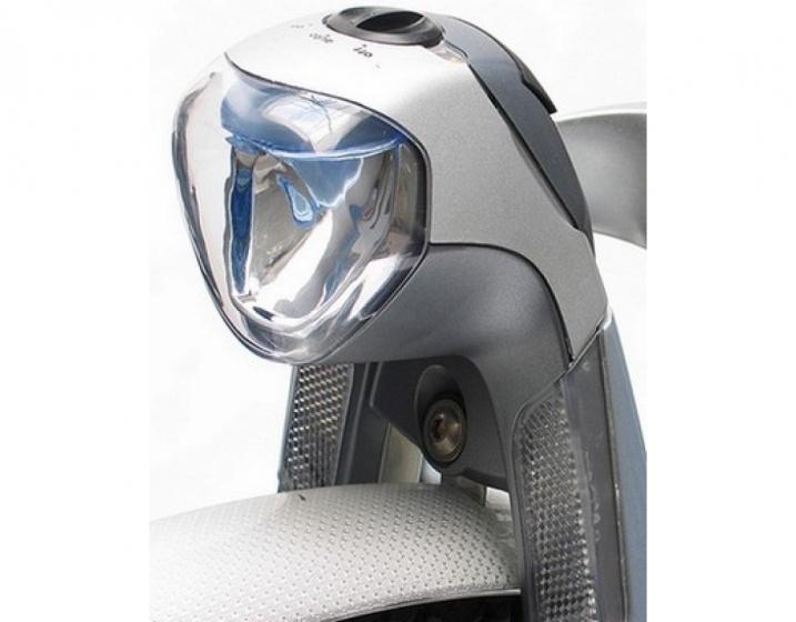 Gazelle koplamp in sight naafdynamo zilver/grijs