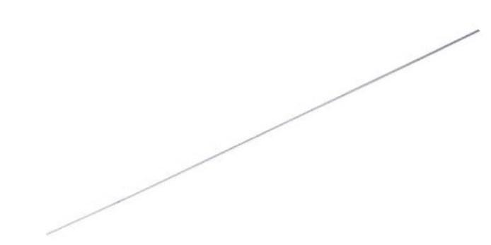 Gazelle reserveonderdeel lakdoek ijzerdraad 75 cm zilver