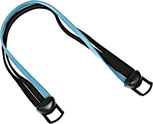 Gazelle snelbinder Power 28 inch lichtblauw/zwart