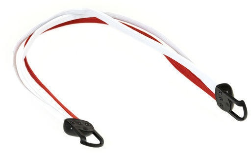Gazelle snelbinder Power 28 inch wit/rood