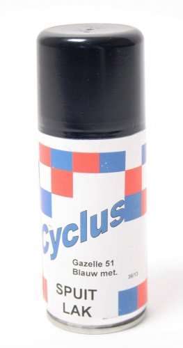 Gazelle Spuitlak 150 ml Blauw Metallic