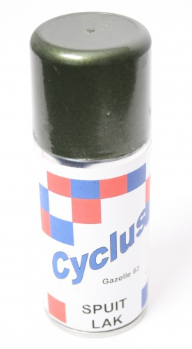 Gazelle Spray Paint 63 150 Ml Green Metallic Internet Bikes