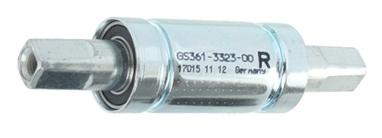 Gazelle trapas JIS 128 / 38 mm zilver