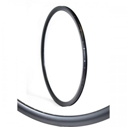 Gazelle velg hoog Dutck Black 28 inch 36G aluminium zwart