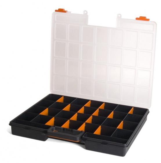 Korting Gerimport Gereedschapskoffer Organizer 48 X 41 X 6 Cm Zwart