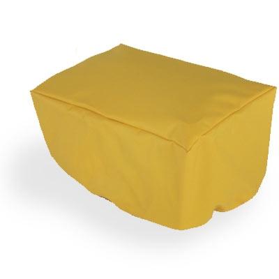 Gilles Berthoud regenhoes voor bagagedragertas GB999 geel