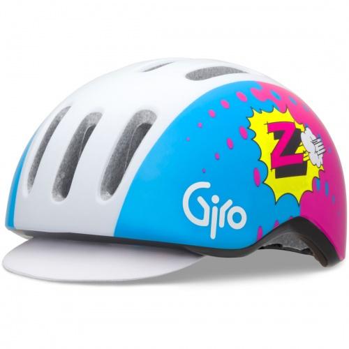 Giro Fietshelm Reverb Blauw Roze Maat L (59 63cm)