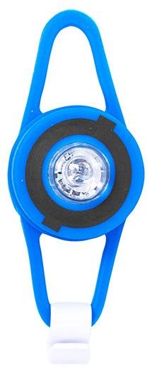 Globber voorlicht batterij led 7,5 cm blauw