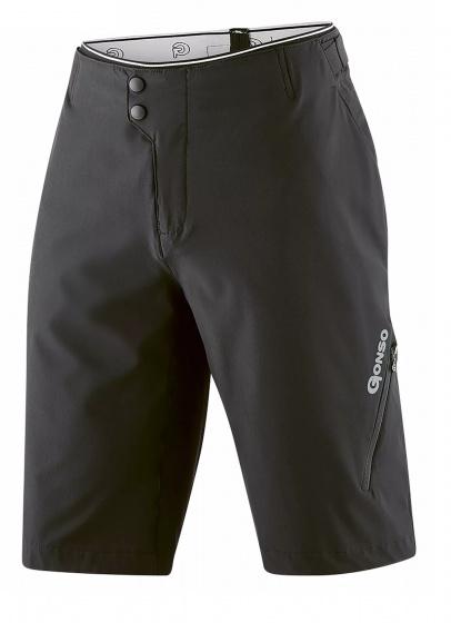 Gonso fietsbroek Fumero heren polyester/elastaan zwart maat XL
