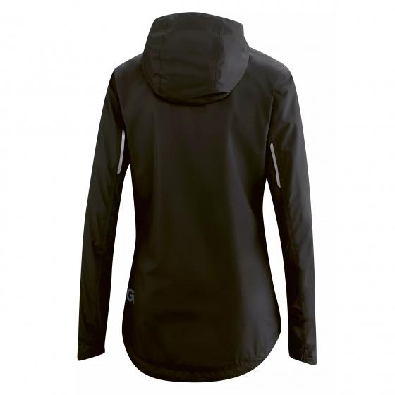 Gonso fietsjack Sura Light dames polyester zwart maat 34
