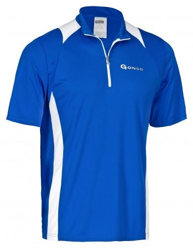 Gonso Fietsshirt Franz Heren Blauw Maat S