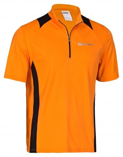 Gonso Fietsshirt Franz Heren Oranje Maat S