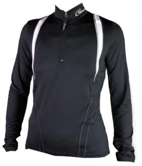 Gonso Fietsshirt Lange Mouw Dames Zwart Maat 40
