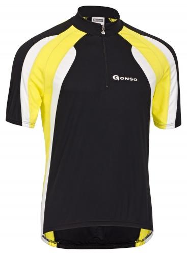 Gonso Fietsshirt Maputo Heren Zwart Maat S
