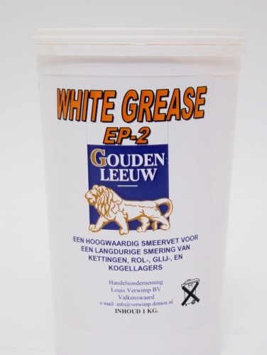 Gouden Leeuw Smeervet White Grease EP2 1KG