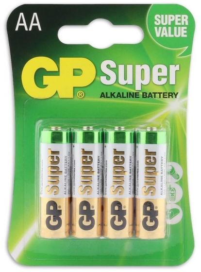 GP batterijen Super AA alkaline per 4 stuks