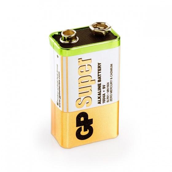 GP Super Alkaline 9V batterij per stuk