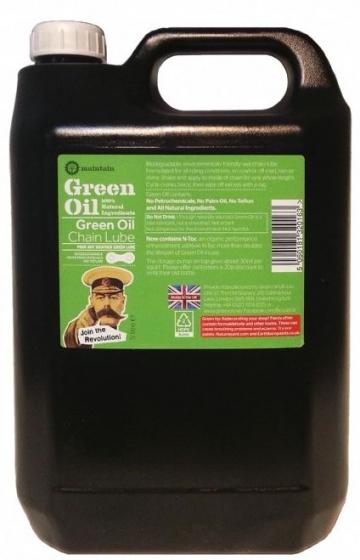 Green Oil kettingolie 5 liter zwart